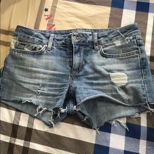 Joe's size 27 jean shorts